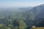 Simien Mountain vistas, Ethiopia