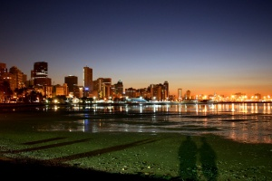 Shadowed Reflections on Durban Beachfront by Marc Forrest on Flickr