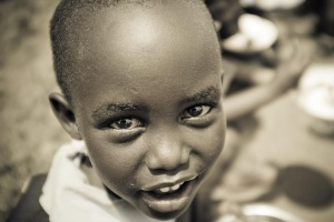 Beautiful little girl from an orphanage in Nairobi by Javier Corbo on Flickr