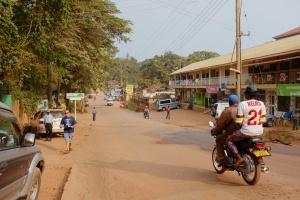 Kampala street by Fred Inklaar