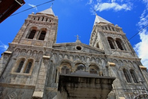 Stone Town cathedral by TravelingOtter