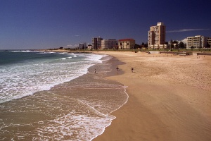 Port Elizabeth beach by Brian Snelson