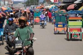 Antananarivo traffic