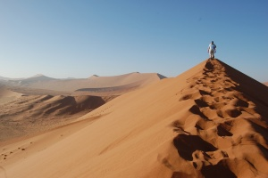 Sossusvlei Dune Walk by Jeremy Hetzel on Flickr