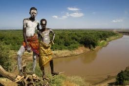 Ethiopia Tribespeople - Karo