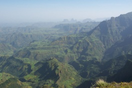 Simien Mountain vistas, Ethiopia