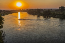 Kafue River Sunset