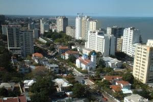 Maputo skyline east by Andrew Moore