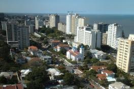 Maputo skyline east