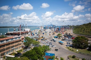Mombasa port by Make it Kenya