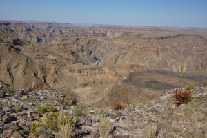 The Fish River Canyon by Daniel Duce