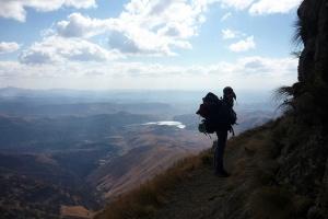 Hiking, uKhahlamba Drakensberg by Fritz Park