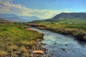 River, uKhahlamba Drakensberg by Steve Slater
