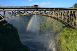 Victoria Falls bungee bridge