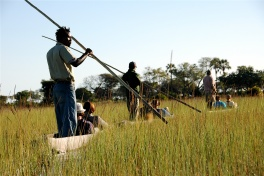 Okavango Delta mokoro trips