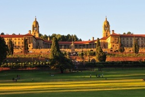 Union Buildings, Pretoria at Sunset by Shutterstock