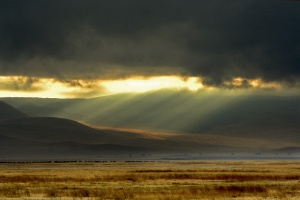 Spotlight on the Earth -  Ngorongoro Crater, Tanzania by epcp on Flickr