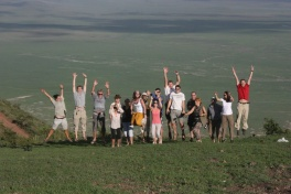 Group at Ngorongoro