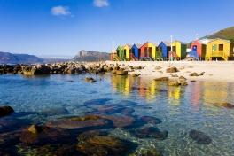 St James Beach in False Bay, Cape Town